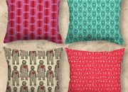 Homespun Creatively Printed Cushions