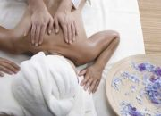 Full body hot stone massage sessions at Beauty by Samaya
