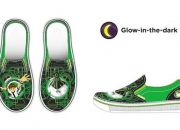 Crocs: Kids' Hover Glow-in-the Dark Ben 10™ Slip-on Sneakers