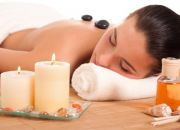 Hot stone massage with a manicure or pedicure at Beauty on Oxford