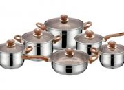 Royalty Line 12-Piece Cookware Set with Glass Lids for R949 Including Delivery (81% Off)
