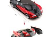 RC Transforming Bugatti Blue or Red