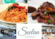 An Exclusive 2-Course Dining Experience for 2 People at Seelan Restaurant: Prawn Linguine, Beef Short Rib, Trio of Desserts & More!