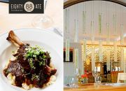 Lamb Shank, BBQ Pork Ribs, Decadent Chocolate Dessert, Cheesecake & More for 2 People at Eighty Ate Restaurant, located in the Cape Town Hollow Boutique Hotel!