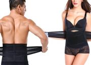 Pack Of 2 Unisex Adjustable Velcro & Lumbar Support Waist Training Belt for R249