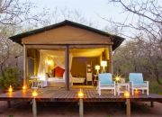 Ngama Tented Safari Lodge: 2-Night Stay Including Breakfast, Lunch, Dinner, Picnic, Massage and Tour for Two