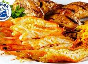 Prawn and Chicken Combo for up to Four with Adega Restaurants