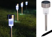 Transform your garden from ordinary to extraordinary with a set of 4 solar LED lights for R475, including delivery