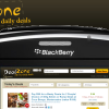 DealZone mailer for Blackberry