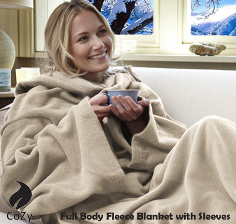 Winter is coming! Forget hot water bottles and electric blankets, at R215, this Huge CoZy Blanket is ALL you need!