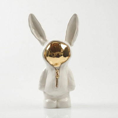 Handmade Sootcookie Gold-Faced Rabbit for R449
