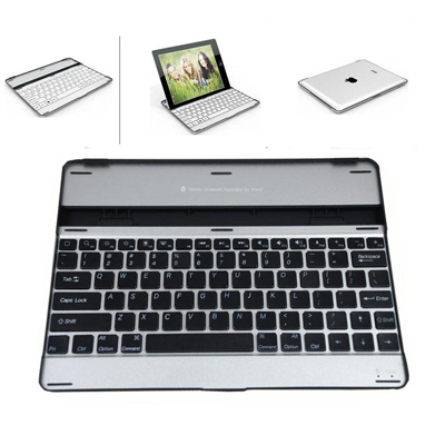 Protect your iPad with the ultimate Bluetooth aluminium keyboard case and stylus - only R550!