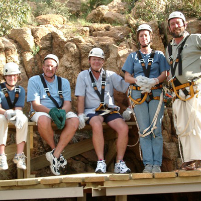Sail through the aged tree tops of the Magaliesberg Mountains with a R150 coupon to spend on a Magaliesberg Canopy Tour!