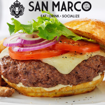 Get any Pasta or Burger with a scoop of Gelato for just R44.50 at San Marco in the V&A Waterfront!