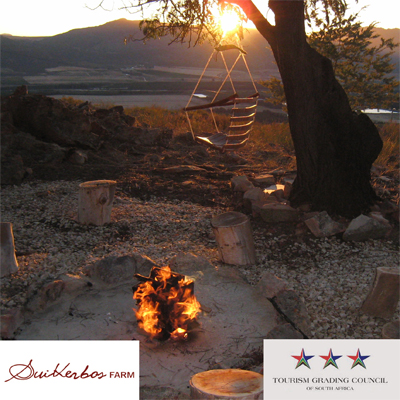 Spend a weekend/week at Suikerbos farm cottage with fireplace on edge of mountain with hammocks overlooking Citrusdal valley. Only R497 per week night & R1395 for a weekend adventure for 4 people! Incl. canoe hire and 2 bags of wood. Save 50%.