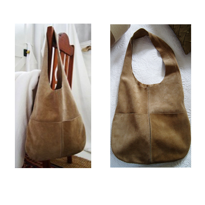 Genuine leather Kelly Bag from Helon Melon - R1350!