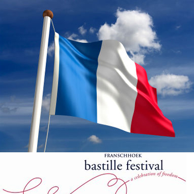40% discount on a Sunday ticket to the Franschhoek Bastille Day Festival. Only R90!