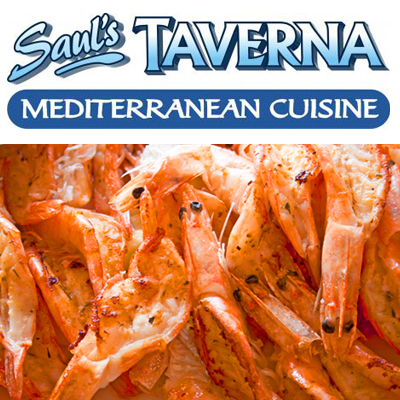 Go crazy with 1kg of prawns with chips and garlic, chilli or lemon butter at Saul's Taverna - Only R99 per person!