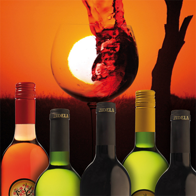 Enjoy a case of 6 Zidela Wines, either white or red wine for ONLY R299, including delivery!