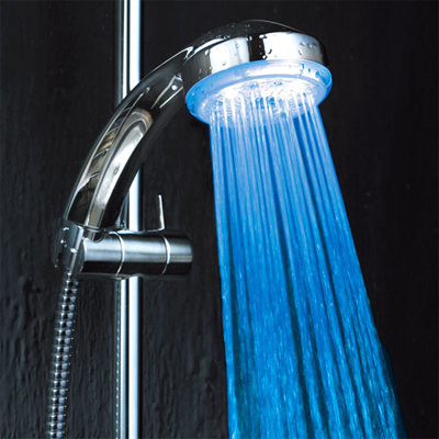 Brighten up your bathroom with this fabulous pack of 2 LED shower head fittings! National delivery included.
