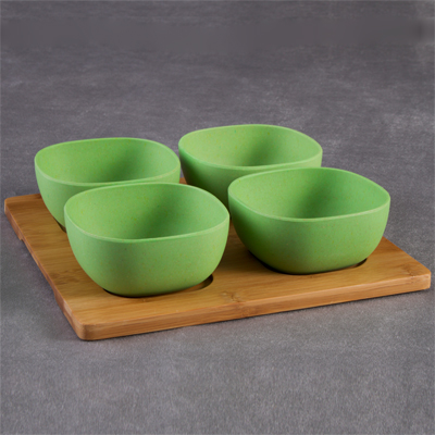 Mint Bamboo Fibre Snack Bowl Set | R240 incl delivery