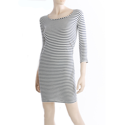 Navy Striped Dress by Shereenjac | R260 incl delivery