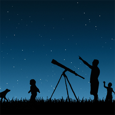 Only R75 a ticket to a star gazing evening with astrologist Vincent Nettman and Big Creek Guest Lodge! Learning and entertainment for the whole family on Friday 14 September!