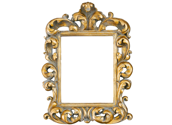 Choose from four decorative framed mirrors for just R1450 each incl delivery. Save 50%.