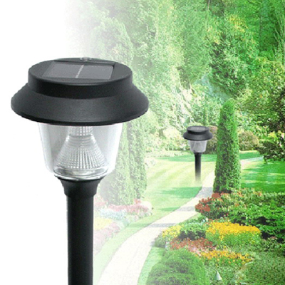 Dress up your yard with a set of 4 solar garden lights, includes national delivery!