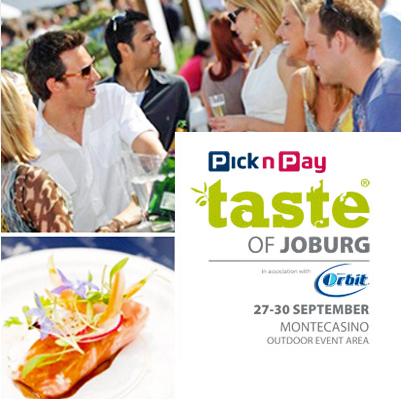 Pay only R40 for a Taste of Joburg a ticket! Save 50%!