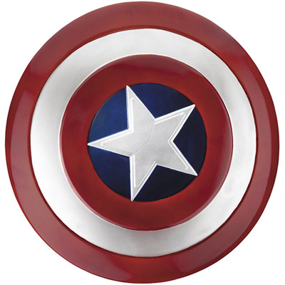 Retro Captain America shield design PU hardcover case for new iPad3 and iPad2 at only R172.00 incl delivery!