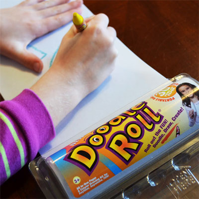 Let the good times roll with The Doodle Roll®! The perfect kids christmas stocking filler for R55!