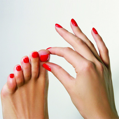 Dr. Hauschka 60 min manicure and 75 min pedicure with Reflexology foot massage by Pam at Tocara, Tokai for only R300!