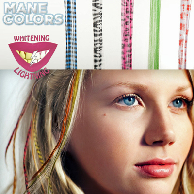 Get the latest hair accessories - 5 racy colour streaks including delivery for only R109!