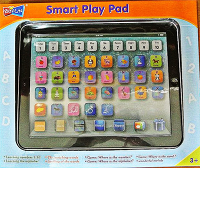 Spoil your child with this sleek educational smart play pad! The smart pad for the young learner for only R169 incl delivery! Only 350 in stock- don't miss out on this great Christmas present!
