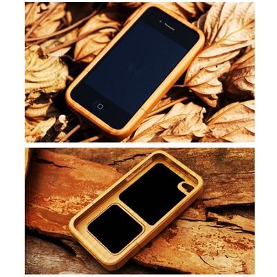 Fashionable bamboo inspired hard cover case for iPhone 4/4S at only R126 incl delivery!