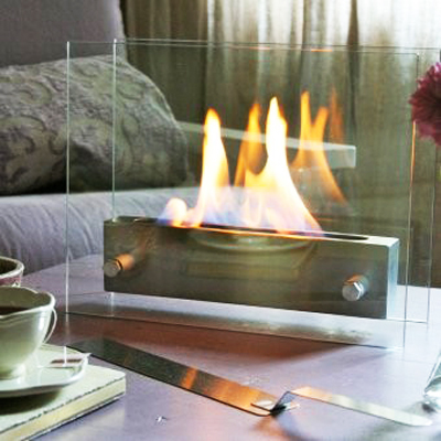 Create a warm atmosphere is any room with the Table Top Fireplace - R899 incl delivery!