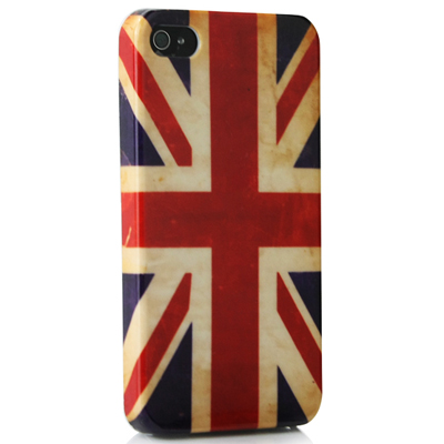 Latest retro covers for iPhone! A British & American Flag design- protective hard case covers for iPhone 4/4S! Just R126.00 for 2!