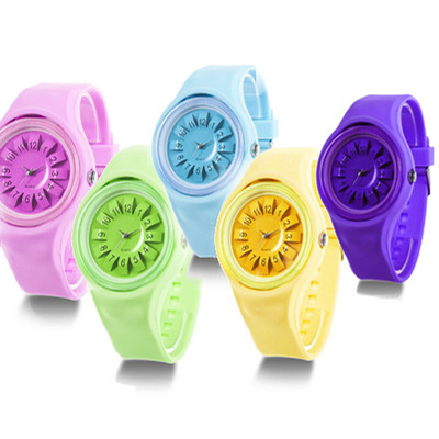 Pay R199 for a fashionable 3D Jelly Watch including delivery!