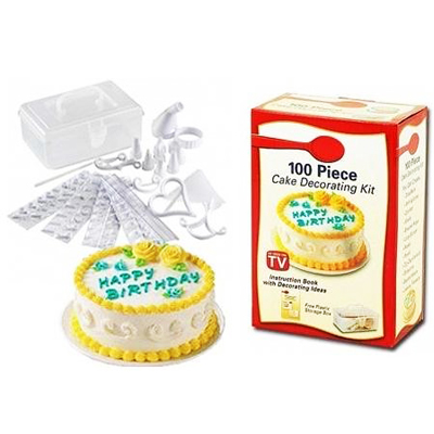 Master cake decoration with this amazing 100 piece cake decorating set for only R139 including nationwide delivery! Birthdays will never be dull again!