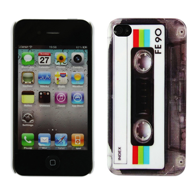 Three protective hard covers cases for your iPhone 4/4s - two in a cassette style and the other as a Nintendo Gameboy for only R125!