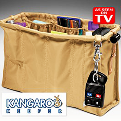 Keep your bag neat and tidy at all times with a kangaroo keeper... Every girl should have one of these! R239, including nationwide delivery
