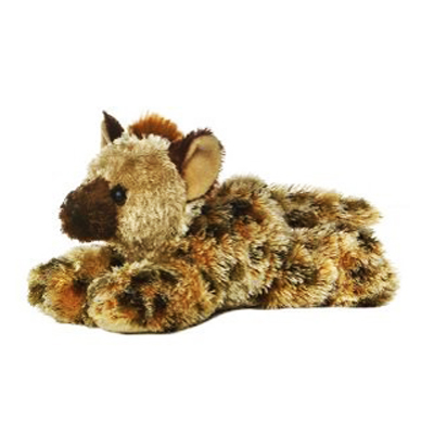 The laughing hyena rolls around laughing and entertains kids for hours, great quality and includes nationwide delivery!