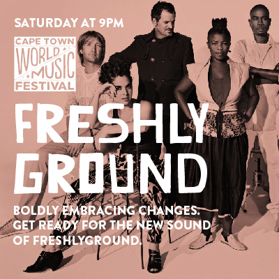 Don't miss out on the first annual Cape Town World Music Festival - all weekend pass for only R195!