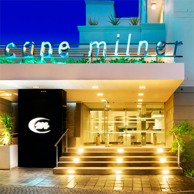 4 Star Cape Milner Hotel in Cape Town Central! R1050.00 for 2 persons or R815.00 per single person per night incl breakfast!