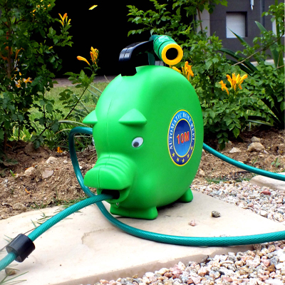 Keep your garden neat and green with this automatic retractable air / water hose reel!!