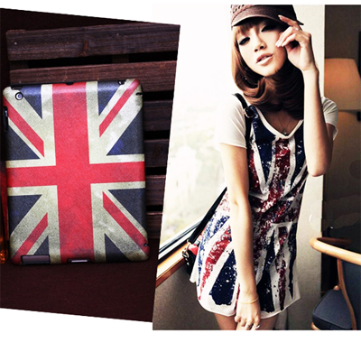Stunning! Retro Union Jack design PU hardcover case for new iPad 3 & iPad 2 at only R172 each incl delivery!