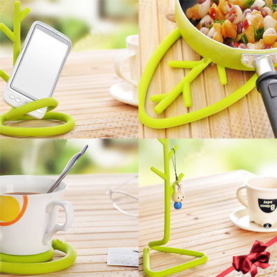 Hang your keys, stand a hot pot or hold your phone with this multi purpose tree stand for R90!