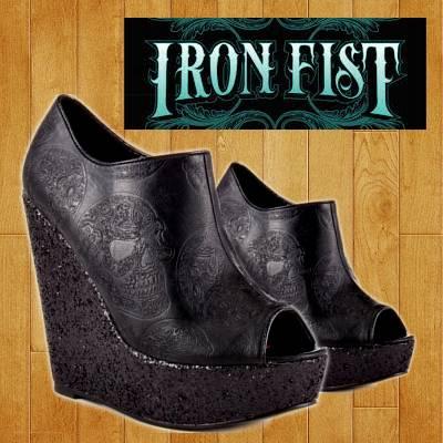 Iron Fist Manslayer Bootie Wedge   R349