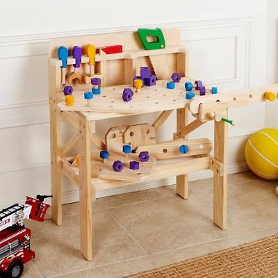 Treehaus Kids' Wood Workbench Set   R899